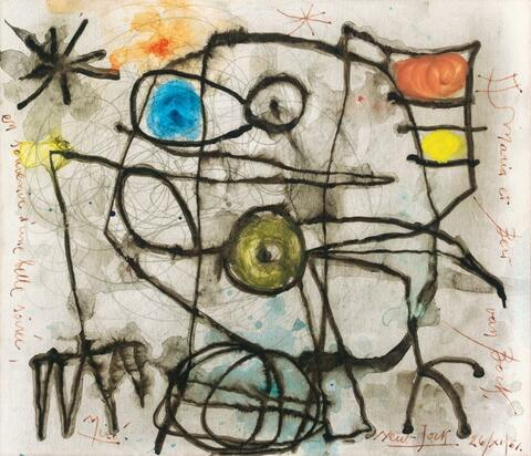 Joan Miró - Composition