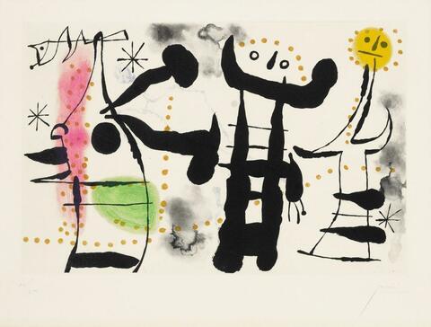 Joan Miró - Les philosophes II