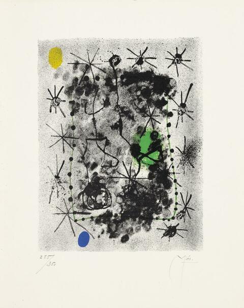 Joan Miró - Constellations.