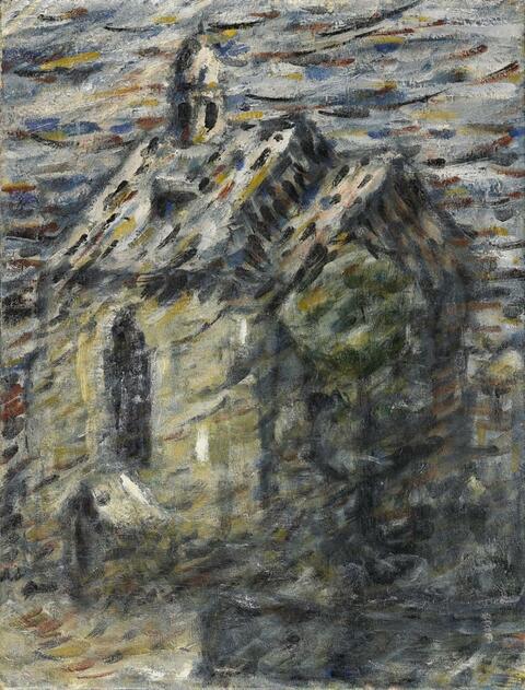 Christian Rohlfs - Die Brunnsteinkapelle in Soest (Brunnenstein Chapel in Soest)