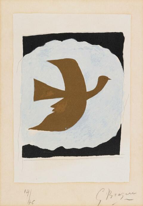 Georges Braque - Oiseau bistre