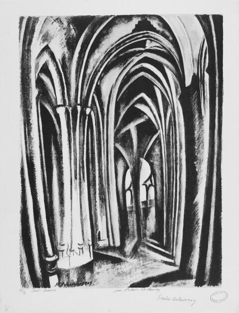 Robert Delaunay - Saint-Séverin