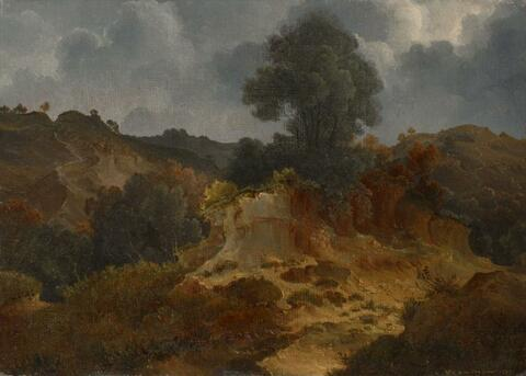 Johann Wilhelm Schirmer - ROCKY LANDSCAPE