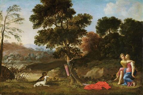 Italienischer Meister des 17. Jahrhunderts - DIANA UND CALLISTO