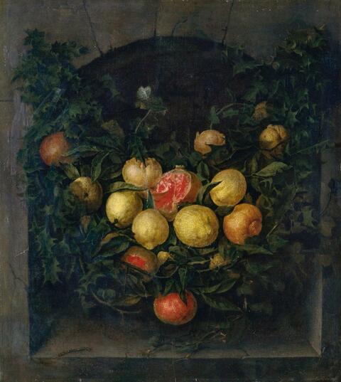 Jan van Kessel the Elder - FRUIT STILL LIFE