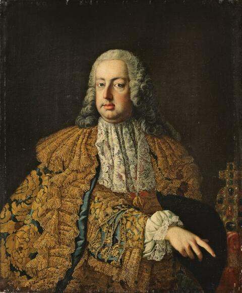 Martin van Meytens, studio or circle of - PORTRAIT OF EMPEROR FRANZ I. STEPHAN OF LORRAIN