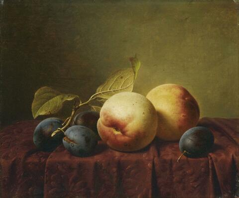 Johann Wilhelm Preyer - FRUIT STILL LIFE