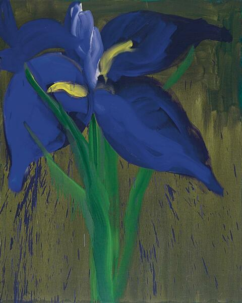 Rainer Fetting - Iris