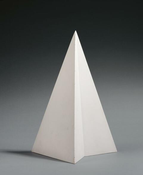 Sol LeWitt - ohne Titel (Pyramid V)