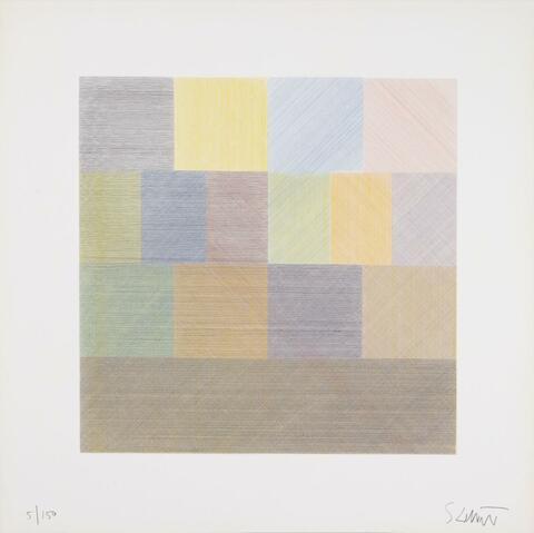 Sol LeWitt - Composite Series