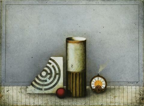 Friedrich Meckseper - Untitled (Still-Life)