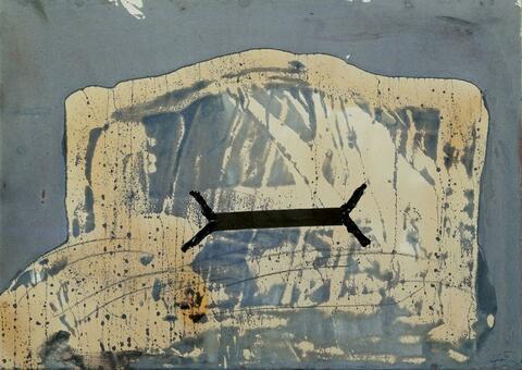 Antoni Tàpies - Untitled
