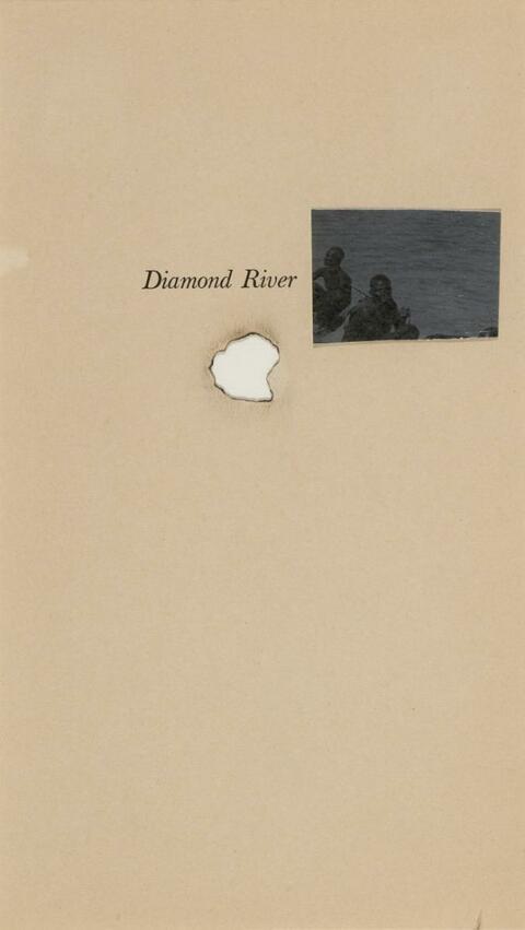 Rosemarie Trockel - Ohne Titel (Diamond River)