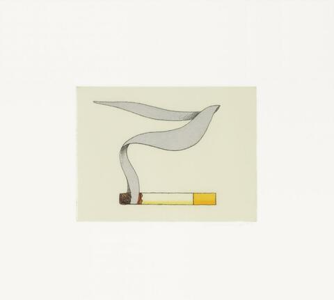 Tom Wesselmann - Smoking Cigarette
