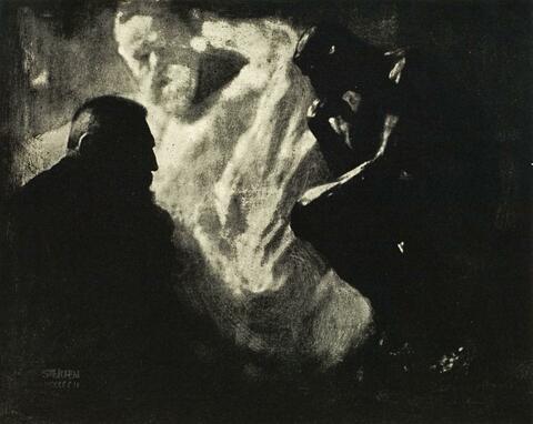 Edward Steichen - RODIN - LE PENSEUR
