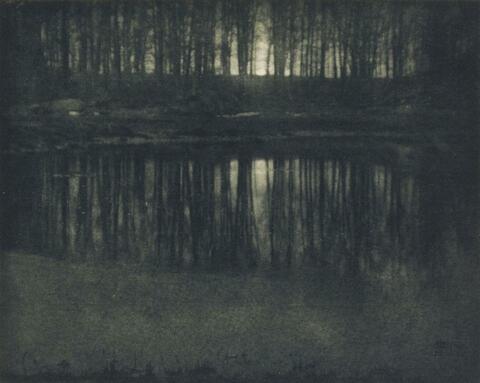 Edward Steichen - MOONLIGHT: THE POND