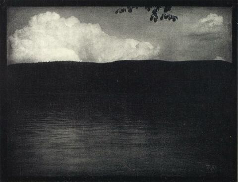 Edward Steichen - THE BIG WHITE CLOUD