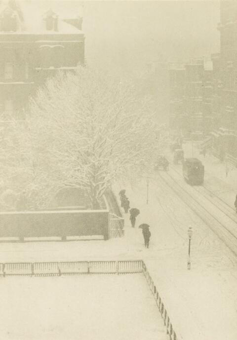 Alfred Stieglitz - SNAPSHOT - FROM MY WINDOW, NEW YORK