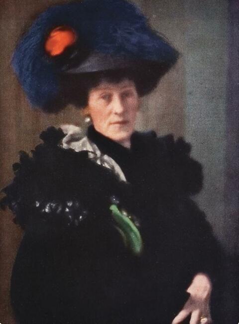 Edward Steichen - PORTRAIT - LADY H.