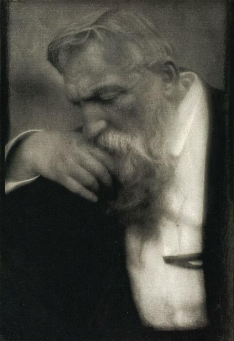 Edward Steichen - M. AUGUSTE RODIN