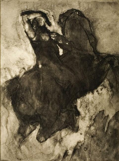 Auguste Rodin - PHOTOGRAVURE OF DRAWING. PHOTOGRAVURE OF DRAWING. CAMBODIAN DANCER. DRAWING (SUN SERIES). DRAWING (SUN SERIES). DRAWING.