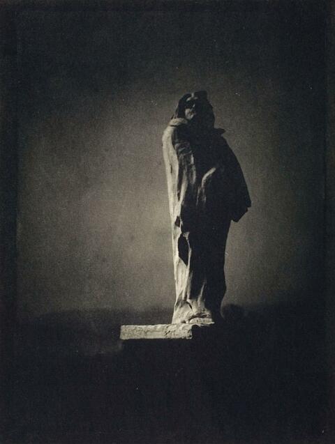 Edward Steichen - BALZAC - THE OPEN SKY
