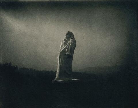 Edward Steichen - BALZAC - TOWARDS THE LIGHT, MIDNIGHT