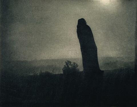 Edward Steichen - BALZAC - THE SILHOUETTE