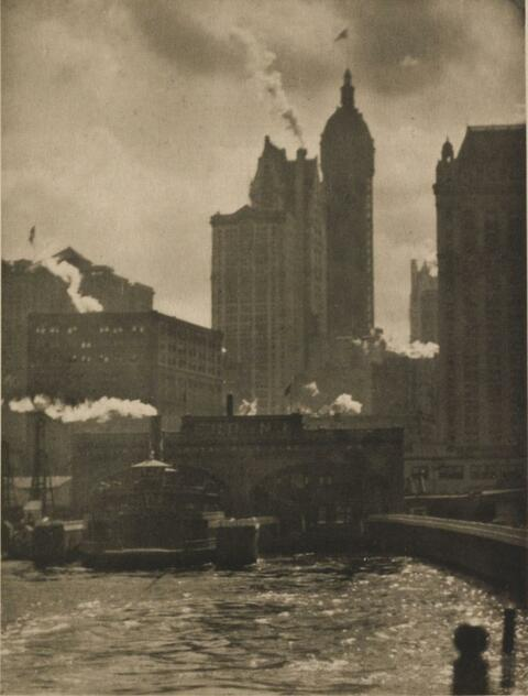 Alfred Stieglitz - THE CITY OF AMBITION