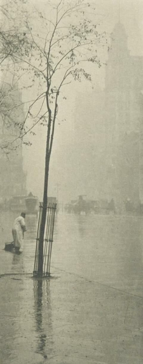 Alfred Stieglitz - SPRING SHOWERS, NEW YORK
