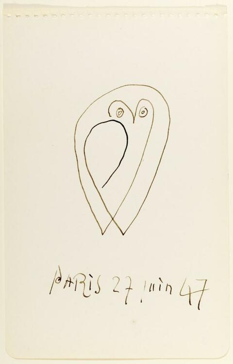 Pablo Picasso - La chouette