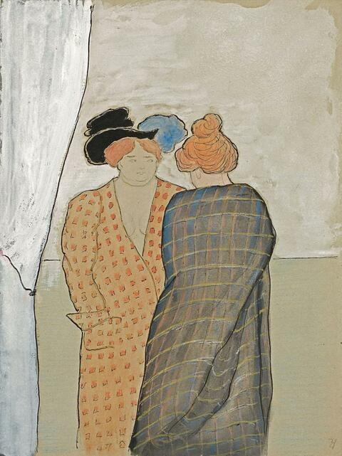 Marianne von Werefkin - Zwei Frauen