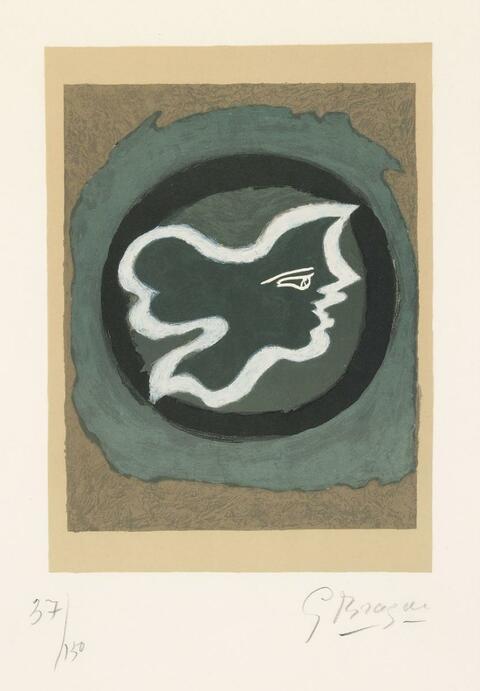 Georges Braque - Profil Grec