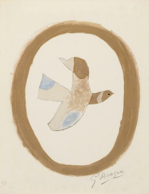 Georges Braque - L'oiseau des sables