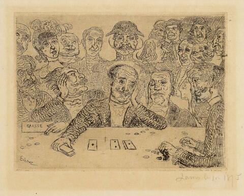James Ensor - Les Joueurs