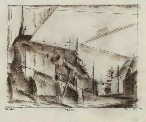 Lyonel Feininger - Taubach