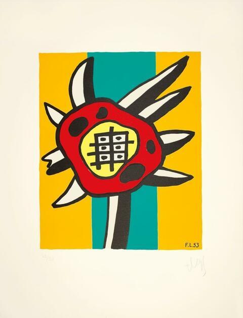 Fernand Léger - Le tournesol