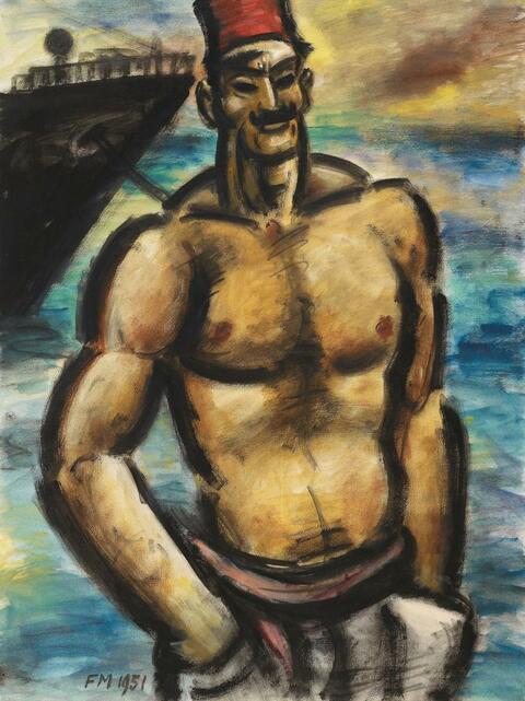 Frans Masereel - Le Docker Turc