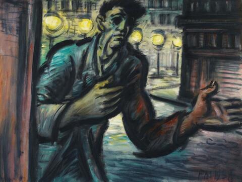 Frans Masereel - L'Homme à la main tendue