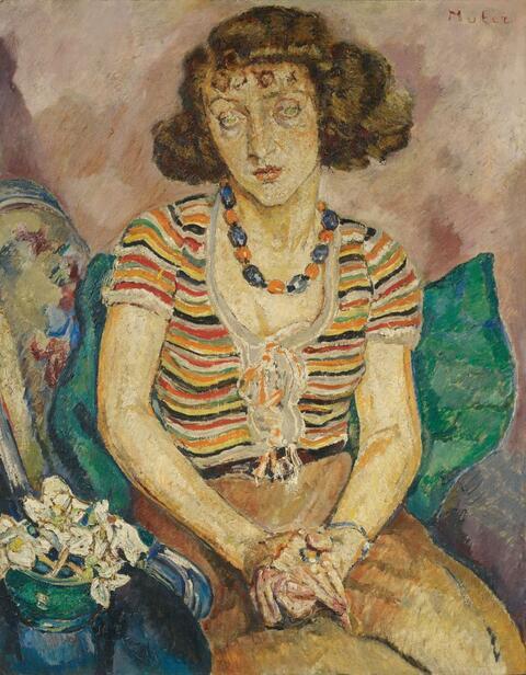 Mela Muter (Maria Melania Mutermilch) - Weibliches Portrait