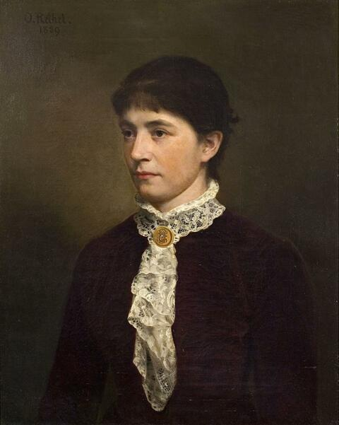Otto Rethel - PORTRAIT OF CLARA CARON