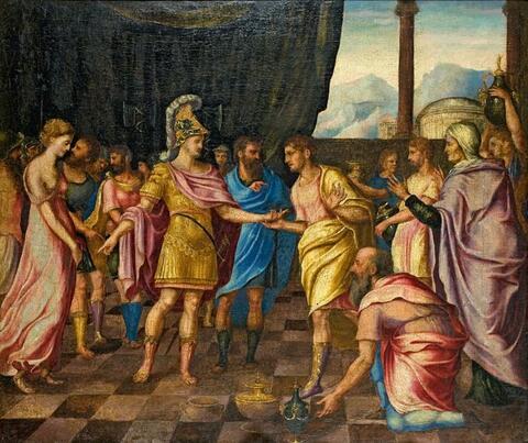 Französischer Meister des 17. Jahrhunderts - DIE GROSSMUT DES SCIPIO