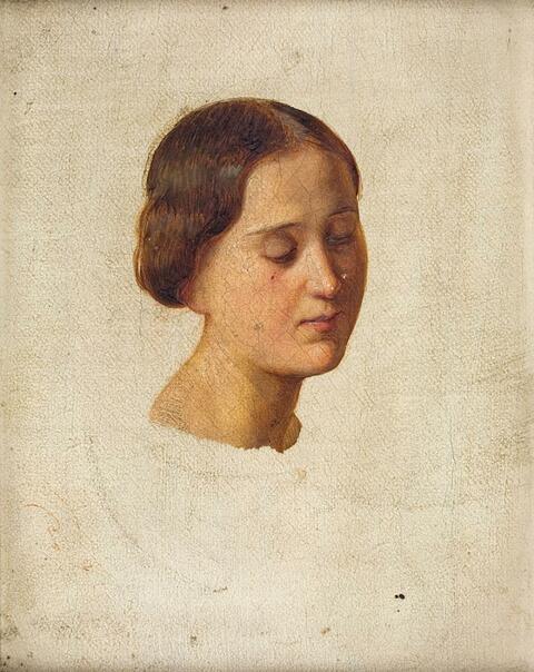 Deutscher Künstler der 1. Hälfte des 19. Jahrhunderts - ZWEI BILDNISSTUDIEN