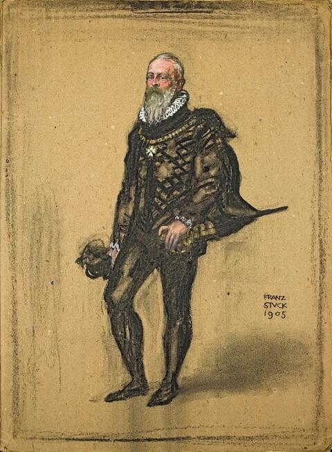 Franz von Stuck - BILDNIS EINES HERREN IM SPANISCHEN KOSTÜM