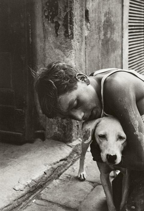 Will McBride - BOY AND DOG, FLORENCE