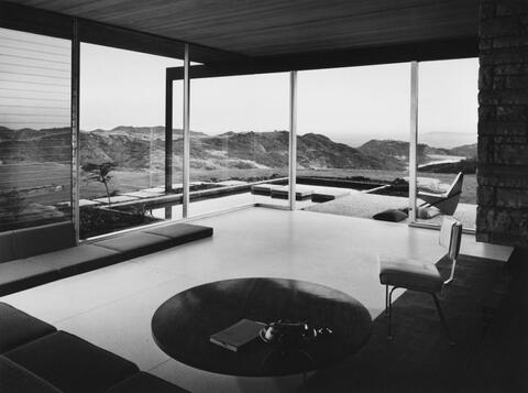 Julius Shulman - HOUSE DR. SINGLETON, LOS ANGELES