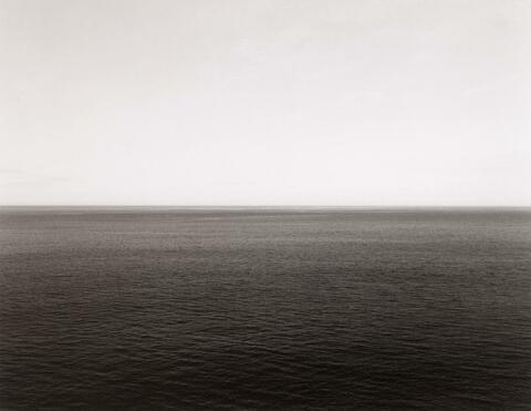 Hiroshi Sugimoto - NORWEGIAN SEA, VESTERALEN ISLAND (#335, AUS: TIME EXPOSED)
