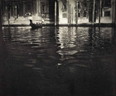 Edward Steichen - LATE AFTERNOON - VENICE