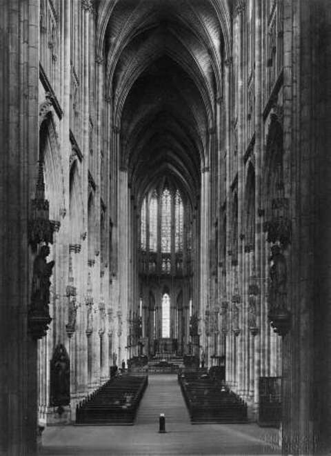 August Kreyenkamp - COLOGNE CATHEDRAL