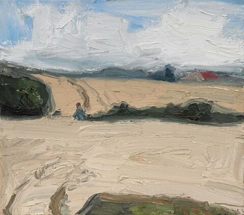 Klaus Fußmann - Untitled (landscape)